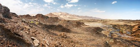 to rub: Rocks of Rub al Khali, UAE Stock Photo