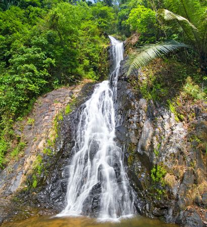 cascade waterfall  photo
