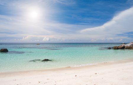 mountin: beach and sea