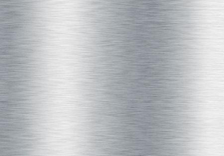 brushed silver metallic background Stock Photo - 6099289