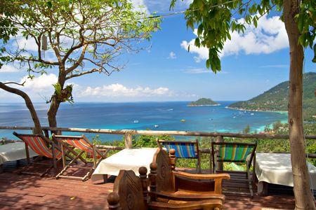 koh tao: viewpoint on koh tao island, thailand
