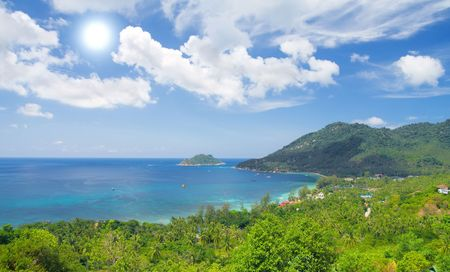koś: beautiful ko tao island. Thailand Stock Photo