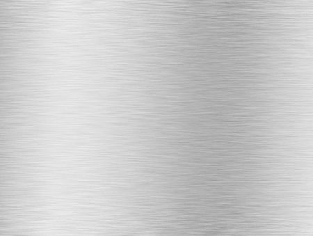 brushed silver metallic background Stock Photo - 6103064