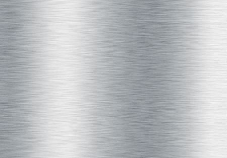 brushed silver metallic background Stock Photo - 6179729