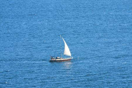 Sailboat in high sea Stock Photo - 6251662