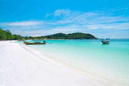 Beautiful beach on Koh Lipe, Andaman Sea,Thailand photo