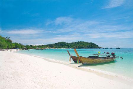 Strand op de Andaman zee, Thailand, Koh Lipe  Stockfoto