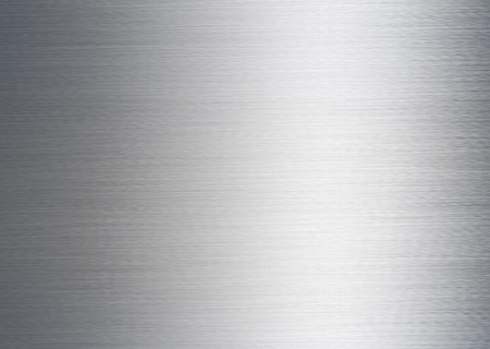 steel sheet: brushed silver metallic background