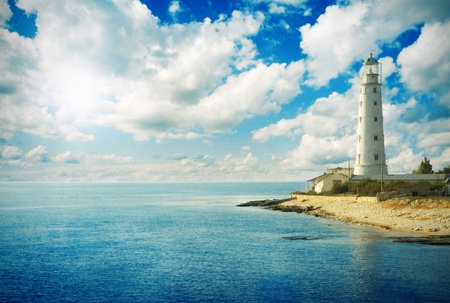 Old Lighthouse Stock Photos And Images 123rf