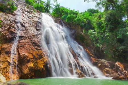 Na Muang een waterval, Koh Samui, Thailand