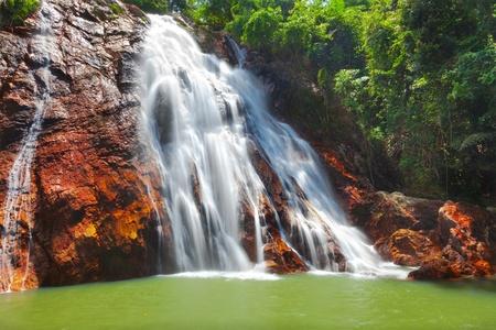 Na Muang 1 waterfall, Koh Samui, Thailand photo