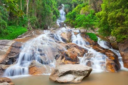 Na Muang 2 waterfall, Koh Samui, Thailand photo