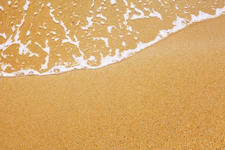 zand en golf achtergrond