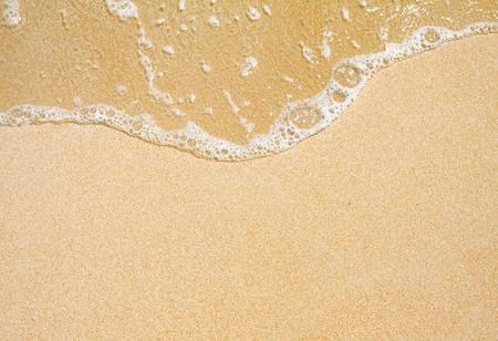du sable et des vagues Banque d'images
