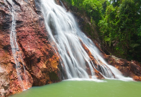 Na Muang 1 waterfall, Koh Samui, Thailand Stock Photo - 11890522