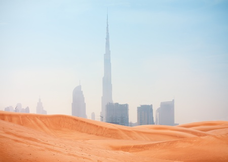 desert scenes: desert and Dubai