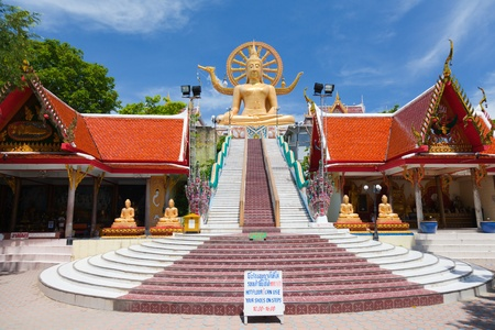 big buddha statue on koh samui, thailand Foto de archivo