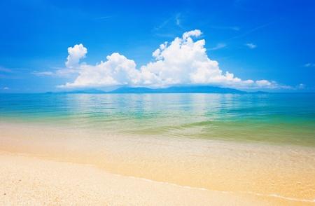 beach and tropical sea. Koh Samui, Thailand