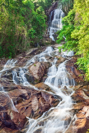 Na Muang 2 waterfall, Koh Samui, Thailand photo