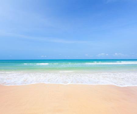 playas tropicales: playa y mar Foto de archivo