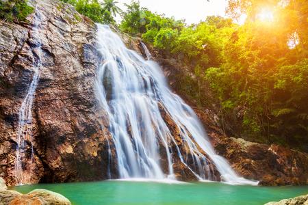 na: Na Muang 1 waterfall, Koh Samui, Thailand