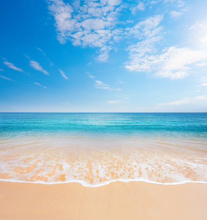 beach and tropical sea Stock Photo - 34824487
