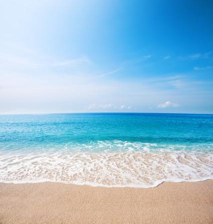 beach and beautiful tropical sea Stock Photo - 52698330