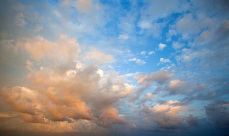 romance sky: cloudy sky Stock Photo