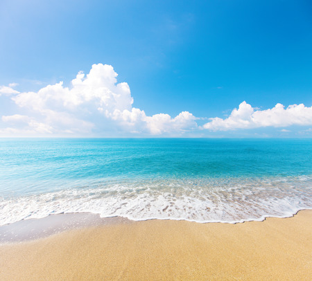 beach and tropical sea Stock Photo - 56692108