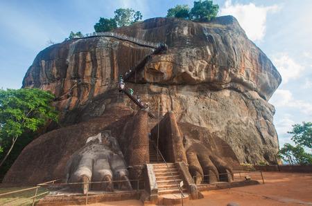 Sgiriya, Lion rock