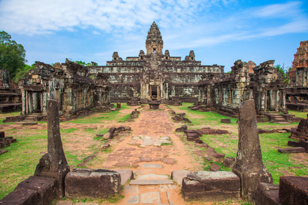 Bakong Prasat temple in Angkor Wat Stock Photo