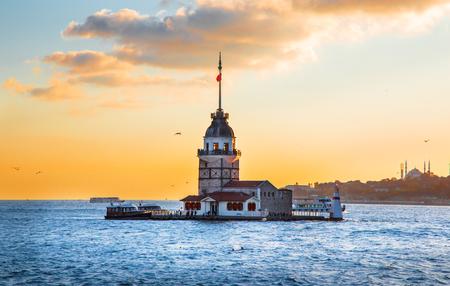 Maiden's tower - Istanbul, Turkey Standard-Bild