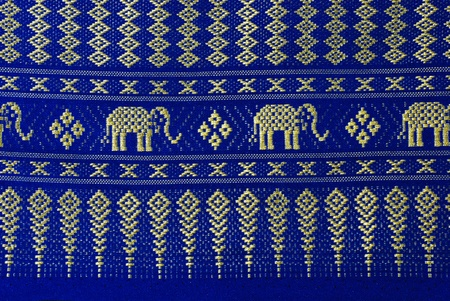 elephant pattern thai style background highly details   photo