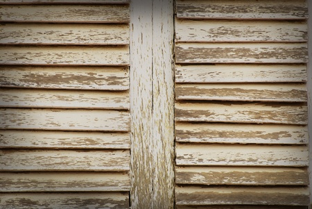 old wood wall texture pattern with horizontal  photo