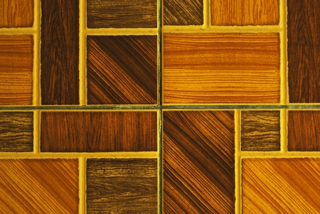 Contemporary Red Tile glossy mosaic Earthenware material