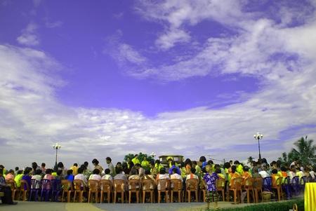 Songkran Thai new year water festival April 13-16 in Thailand.