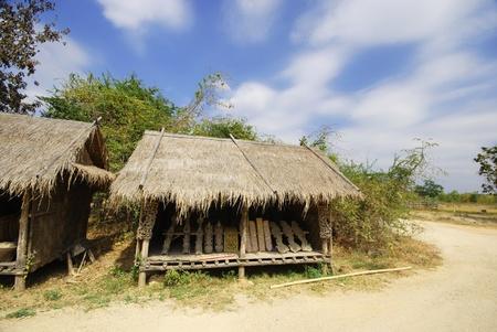 cuntry: The Thai style house in garden Thailand
