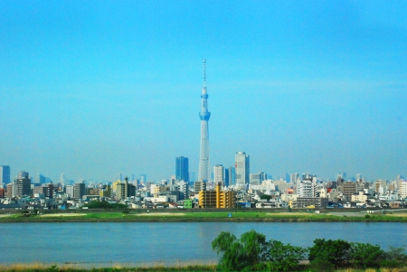 oshiage: The Tokyo Sky tree in the Tokyo city Japan