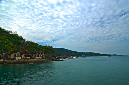 The Samed Island in Rayong Thailand HDR photo Stock Photo - 14000623
