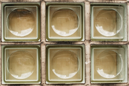 Pattern of clear white Glass wall surface texture Stock Photo