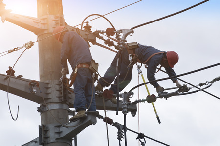 Electric power maintenance photo