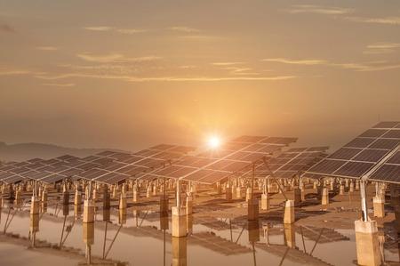 Kraftwerk mit erneuerbaren Solarenergie