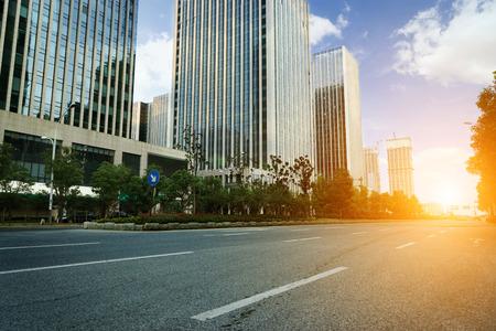 financial district: modern citys financial district