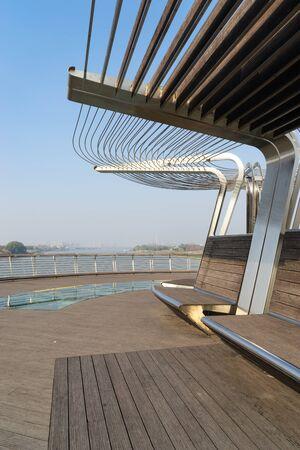 Modern urban architectural landscape in china