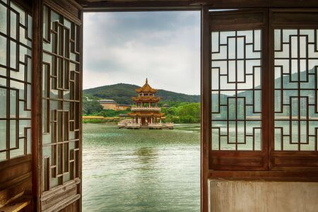 Scenery of ancient towns south of the Yangtze river in China