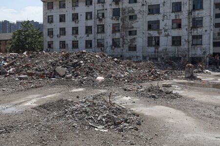 demolished house in China Imagens