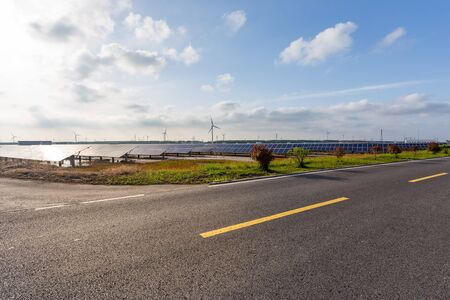 Urban roads and Photovoltaic power plant