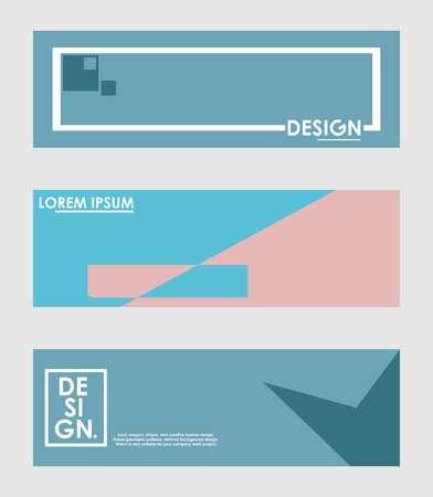 Minimal banner design. Colorful halftone gradient. Future geometric patterns. very suitable for your work project.