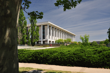 senate: National Library of Australia in Canberra