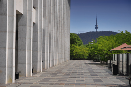 canberra: National Library of Australia in Canberra